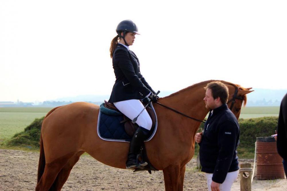 Cours d'équitation à La Croix Saint-Ouen